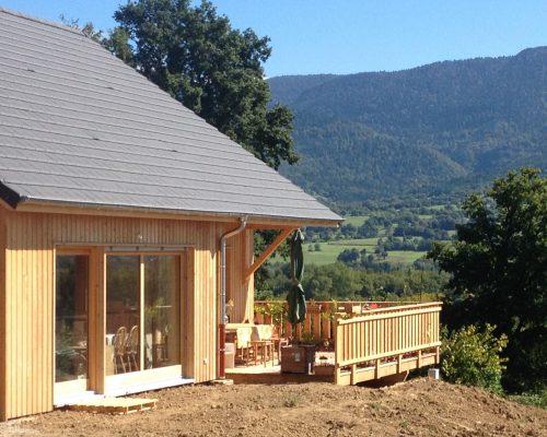 Isolation Maison En Bois Latest Maison Ossature Bois Isolation With
